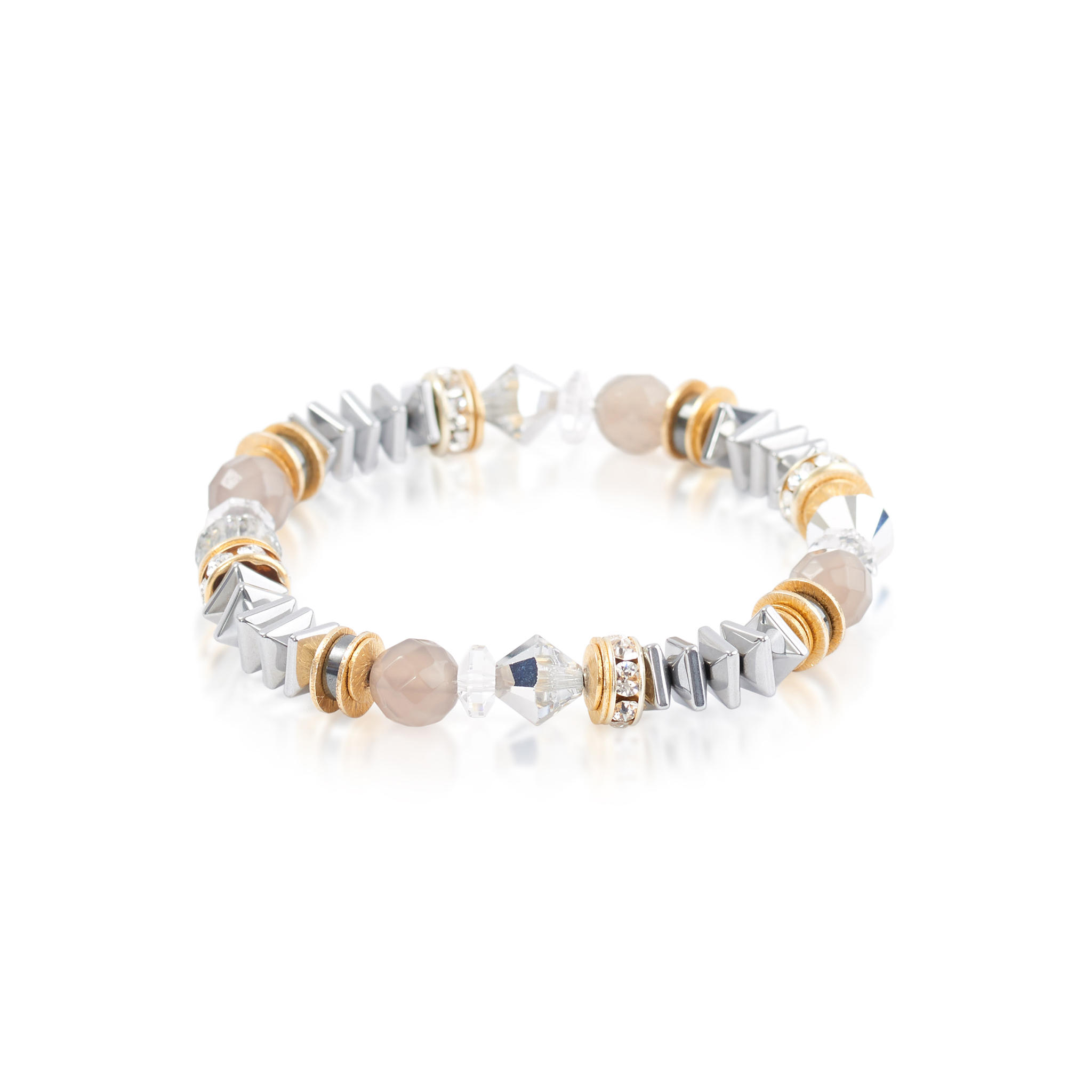 stretch rose com gold bracelet women filled
