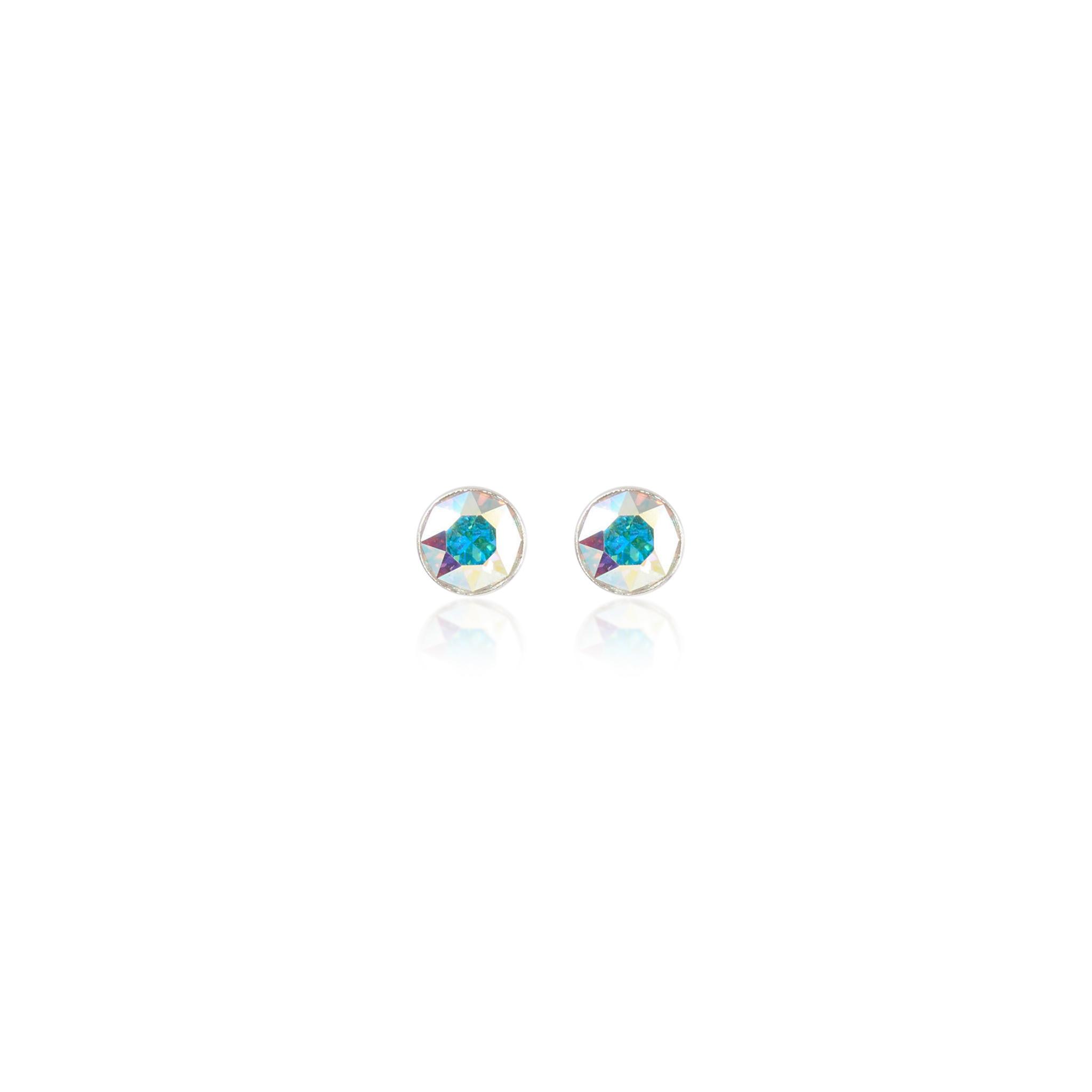 Eden Stud Earrings Aurora Borealis
