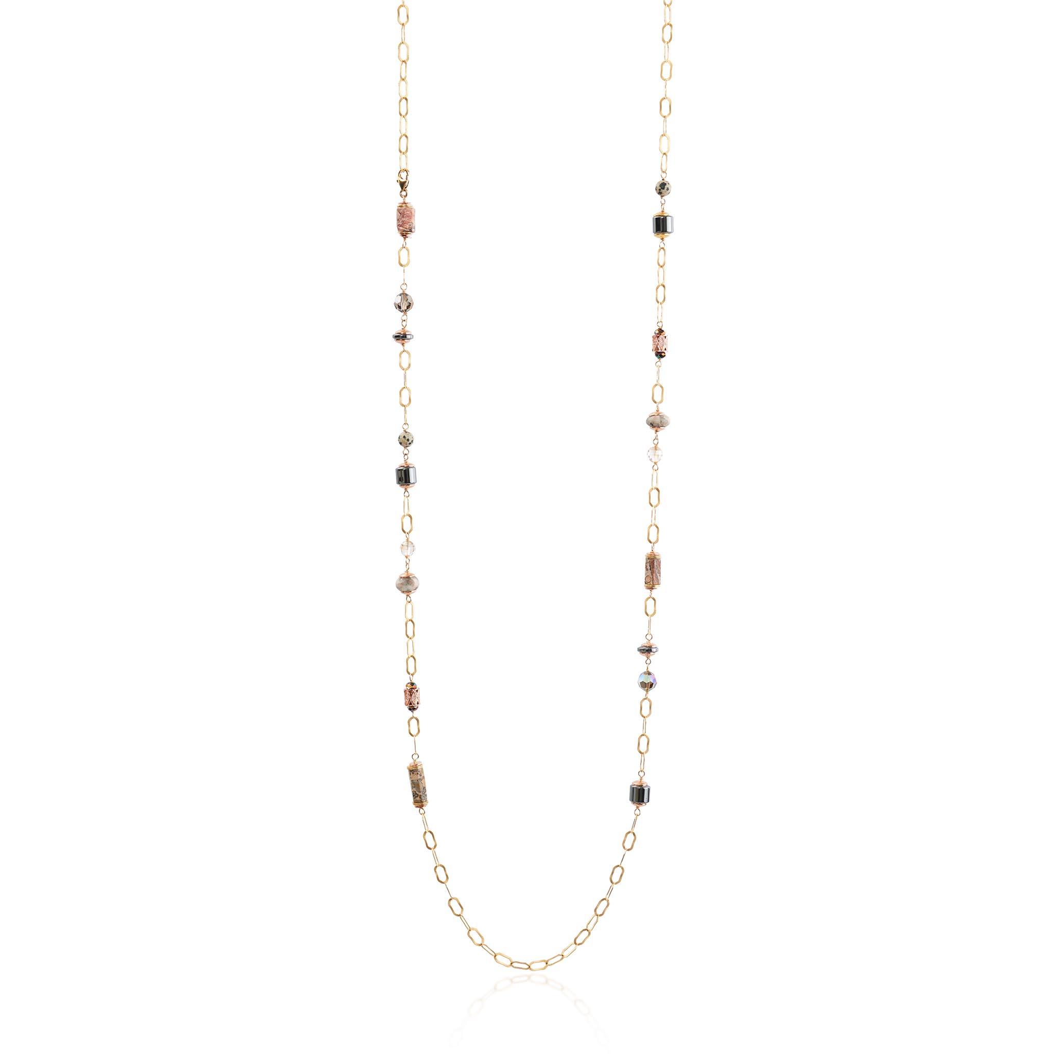 Acadia Necklace Long – Hillberg & Berk